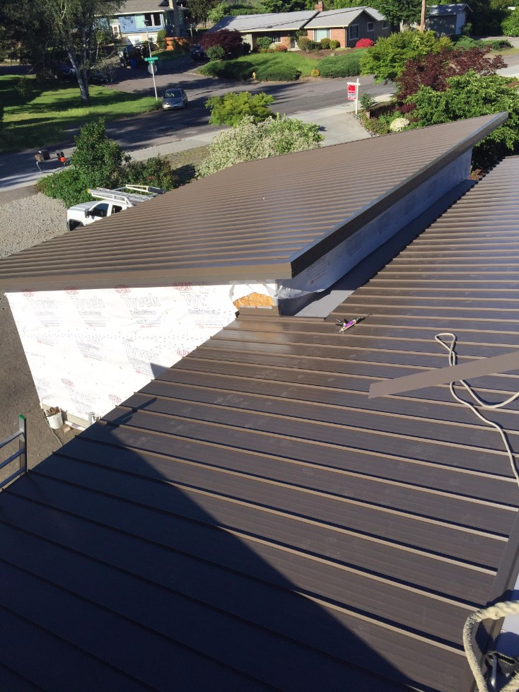 Metal Roof Installation Vancouver Wa J And H Roofing Llc