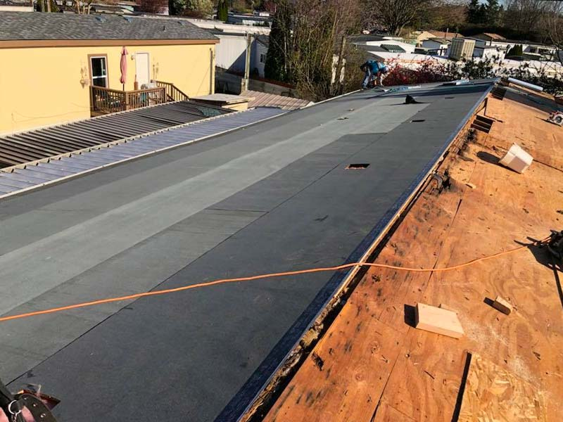Roof Repair During